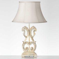 Reubens Cream Table Lamp
