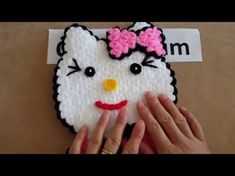 Hello Kitty Kese Lif Yapımı - YouTube
