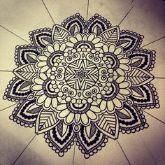 Mandala Designs, I think out of all of the ones I have seen, I like this one the best!