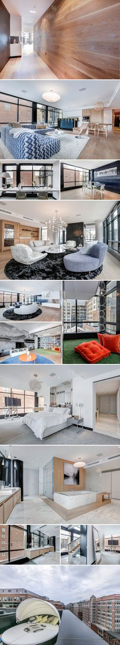 Most Expensive Homes on the Market: A $4.5 Million Modern Condo in Penn Quarter | Luxury Homes | Washingtonian