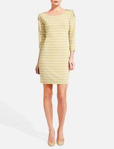 Stripe Knit Dress from THELIMITED.com