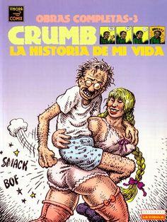 Robert Crumb, obra completa en castellano - Identi