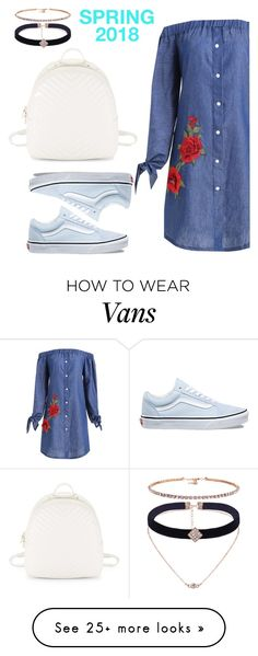 """""""Untitled #334"""" by stylesbyjordyn on Polyvore featuring Vans and Steve Madden"""