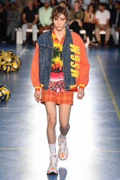 MSGM Spring 2019 Menswear Milan Collection - Vogue