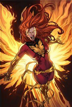 Dark Phoenix by Diego Bernard Marvel 3, Marvel Women, Marvel Girls, Comics Girls, Marvel Heroes, Captain Marvel, Comic Book Characters, Marvel Characters, Comic Character
