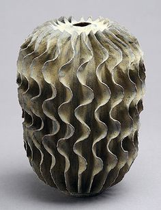 Ursula Morely Price | Bronze Tallish Curly Form. 2010.  Stoneware.