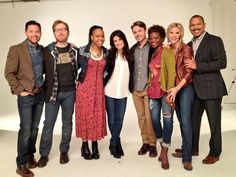 The amazingly talented and gorgeous cast of If/Then