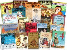 Early American History Primary Jumbo Pack - $209.95 - Beautiful Feet Books