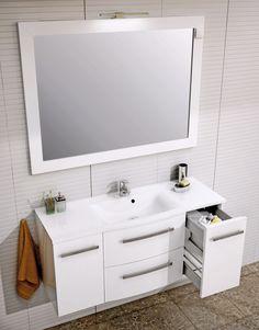 Eleganckie i wysokiej jakości szafki łazienkowe Wave polskiego producenta Oristo. ------------------- #oristo #showerdesign #meble #bathroominspiration #meblelazienkowe #bedroom #umywalka #mynordicroom #decorate #furniture #projektowaniewnetrz #drzwi Double Vanity, Bathroom, Home Decor, Products, Washroom, Decoration Home, Room Decor, Full Bath, Bath