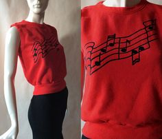 1980's sleeveless fleece knit top / sweatshirt by afterglowvintage