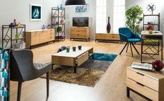 Szafki RTV HAGEN TV to nowość utrzymana w coraz popularniejszym stylu Loft. Czarne metalowe nóżki i drewniane elementy to detale wyróżniające produkty w tym stylu.