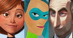 New Incredibles 2 Characters and Main Cast Revealed -- Mirroring a recent Google Arts & Culture viral experiment, Disney has unveiled the voice cast and characters for The Incredibles 2. -- http://movieweb.com/incredibles-2-voice-cast-new-characters-details/