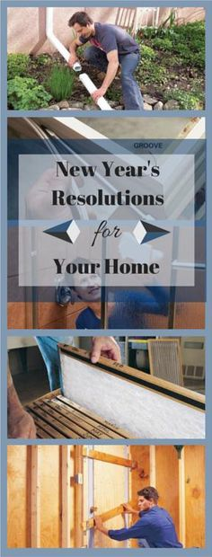 New Year's Resolutions for Your Home: Easy tasks that will make you happier, healthier and even wealthier! http://www.familyhandyman.com/smart-homeowner/new-year-s-resolutions-for-your-home
