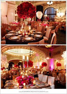 Decoracion de Salones de bodas vintage glam