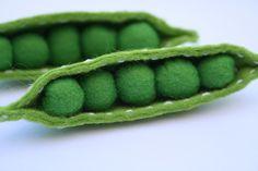 Felt Peas | Les Moutaines | Felt food