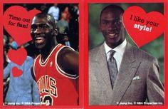 Michael Jordan valentines.