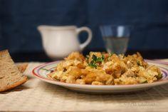 Objetivo culinario: Bacalao Dorado o Bacalhau à Brás