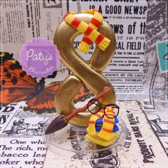 Vela decorada Harry Potter - Paty's Biscuit