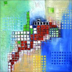 Acrylbild 'Aufbruch' - Angelika Rump