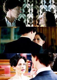 Sherlock and Irene                                                       …