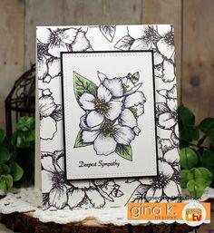 Paper Crafty's Creations : Gina K. Designs April Inspiration Blog Hop - Day 1