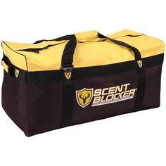 Scent Blocker® Travel Bag, Yellow / Black