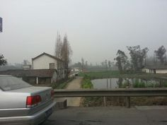 Rural China from the highway