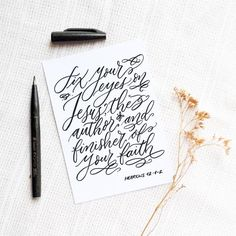 Day 25.  Can't believe we're down to the last week of the #30daysofbiblelettering. It's been such a blessed and inspiring journey so far! by artsynibs