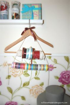 Ribbons organiser, DIY