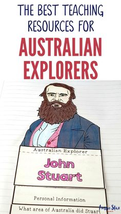 This outstanding range of Australian Explorers Teaching Resources are aligned with the Australian Curriculum and have been designed for your Year 5 HASS Australian History lessons. The activities in these resources are fun, hands-on and interactive and co Primary Teaching, Primary Classroom, Primary School, Teaching History, Teaching Resources, Teaching Ideas, Paragraph Writing, Writing Rubrics, Opinion Writing