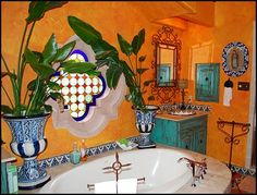 1000 images about mexican bathrooms on pinterest 44 top talavera tile design ideas