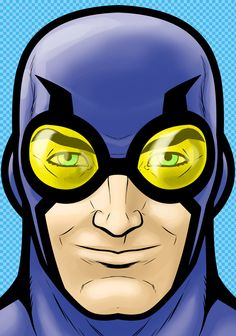 Blue beetle by Thuddleston.deviantart.com on @deviantART