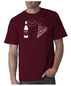 You Complete Me T-shirt (Pizza & Beer) - Funny T-shirt