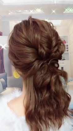 46 easy formal hairstyles for long hair women or g. - 46 easy formal hairstyles for long hair women or girls - Formal Hairstyles For Long Hair, Girl Hairstyles, Braided Hairstyles, Wedding Hairstyles, Halfway Up Hairstyles, Hairstyles For Women, Medium Length Hairstyles, Braids For Medium Length Hair, Easy Updos For Medium Hair