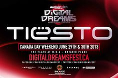 ANNOUNCEMENT: #DigitalDreams Festival Artist Release #Toronto