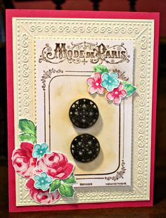 Card by Laura Turner using Altenew's Vintage Roses