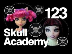 Monster High Doll Show | Skull Academy | 123 Sisters