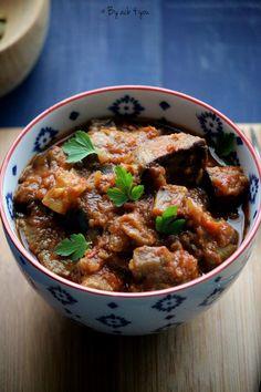 Caponata, Chili, Menu, Soup, Currys, Cooking, Ethnic Recipes, Foie Gras, Eggplants