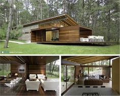 More than 40 dream house forest nature * traumhaus waldnatur Cabin Design, Tiny House Design, Modern House Design, Zen House, Forest House, Garage House Plans, Best House Plans, Kensington House, Farmhouse Floor Plans