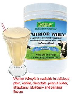 Best Tasting Natural Protein Powder | Warrior Whey