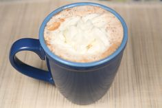 Low Carb Hot Chocolate. Make it from scratch and you will love it so much you will never buy packet hot chocolate ever again.