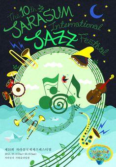 Jarasum International Jass Festival Poster