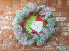Use your favorite colors of deco mesh to create these DIY Christmas mesh wreaths! Learn how to make using these simple tutorials. Diy Christmas Ribbon, Christmas Mesh Wreaths, Diy Wreath, Deco Mesh, Grinch, Favorite Color, Tutorials, Candy, Ornaments