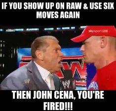 wwe sucks meme - Google Search John Cena, Professional Wrestling, Wwe, Baseball Cards, Google Search, Memes, Meme