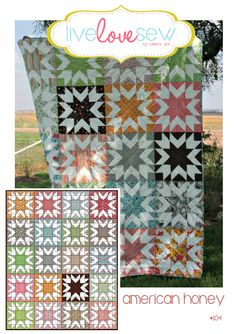American Honey quilt pattern
