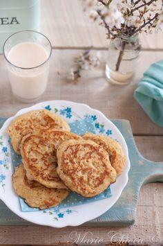 Bannocks à l'okara d'avoine et d'amande (les bannocks sont des petits pains d'avoine écossais cuits à la poêle)