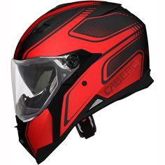 Caberg Stunt Helmet Blade - Black Red    FREE UK Delivery   FREE UK Returns