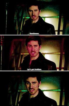 """Sorry I had to do it"" Colin Season 6 blooper"