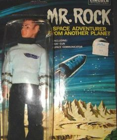 Mr. Rock: Space Adventurer from Another Planet