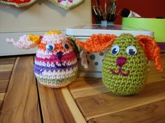 Easter bunny egg: the pattern